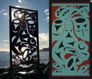 Salish Sea - Giclee v Sculpture